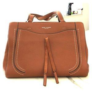 Marc Jacobs cognac leather bag